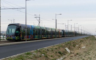 Un train de tramways. Photo : Anje34 le 07/03/2012