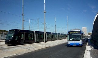 Premi�re sortie de la rame 2083 Citadis 402 Alstom. Photo : Louis Ferdinand le 09/03/2012
