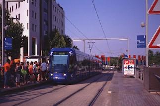 Stations de la ligne 1 du tramway de l 39 agglomration de - Horaire poste montpellier port marianne ...